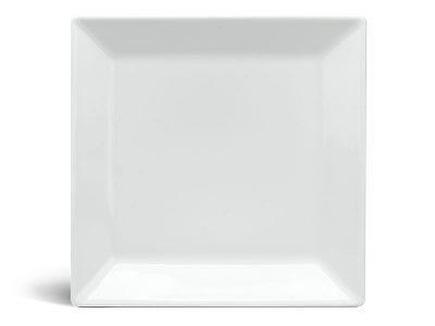Dĩa vuông lá 27 cm - Daisy - Trắng