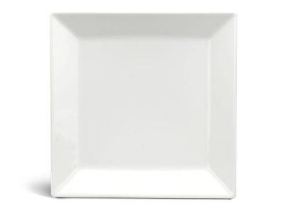 Dĩa vuông lá 29 cm - Daisy Ly's - Trắng Ngà