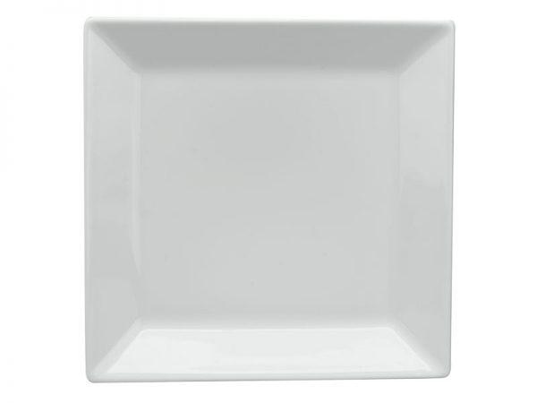 Dĩa vuông lá 29 cm - Daisy Trắng