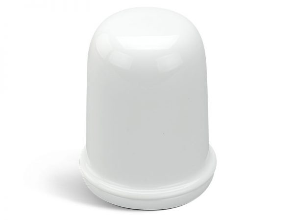 Hũ tăm 8 cm + nắp - Jasmine - Trắng