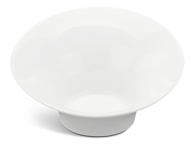 Tô loe vành 30 cm - Gourmet - Trắng Ngà