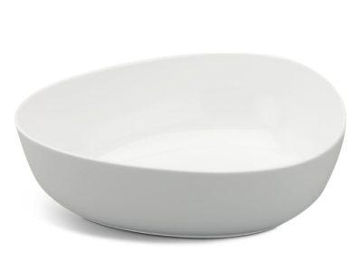 Tô tam giác tròn 29 cm - Gourmet - Trắng Ngà