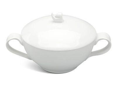 Thố súp 0.3 L + nắp - Anh Vũ Ly's - Trắng Ngà