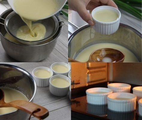 Cách làm rau câu dừa nhân bánh flan cực ngon!
